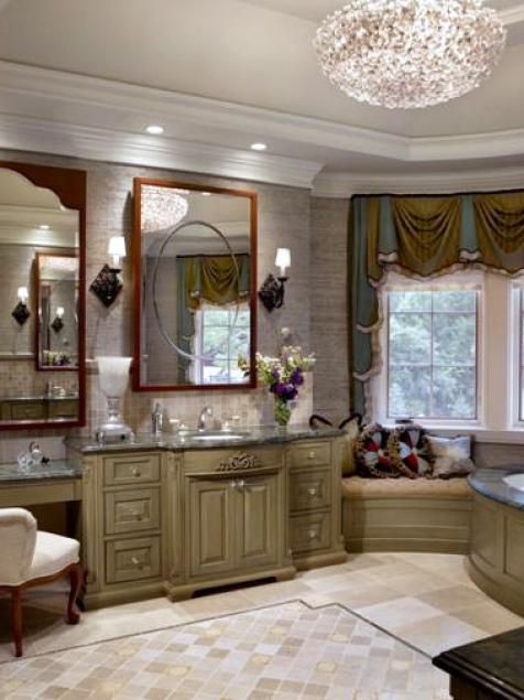 13 Dreamy Bathroom Lighting Ideas Hgtv