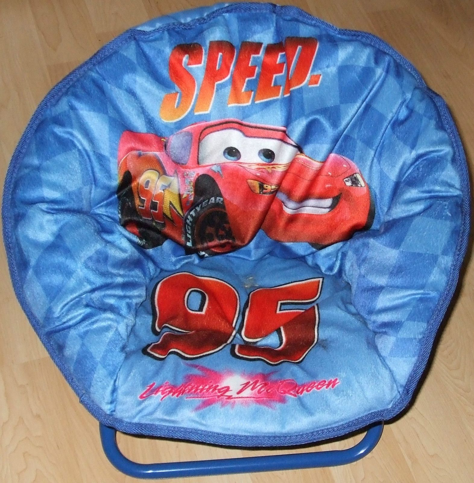 Lightning Mcqueen Bedroom Accessories Disney Cars Lightning Mcqueen Moon Chair Great For Kids Bedroom