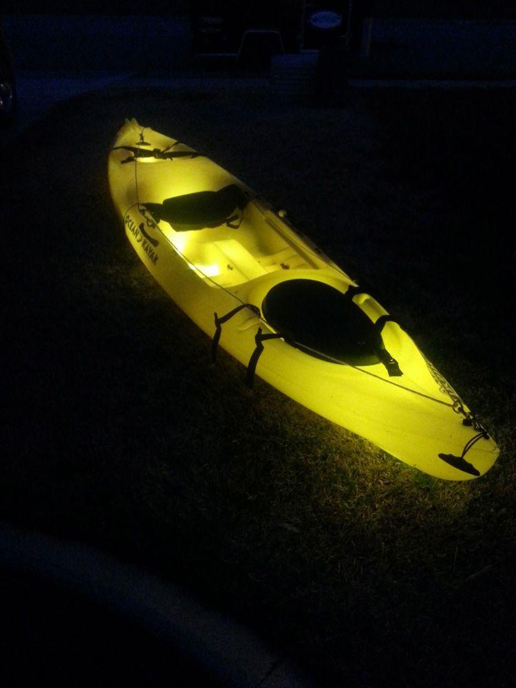 Kayak Hull Led Light Kit Several Colors Available Kayak Lights
