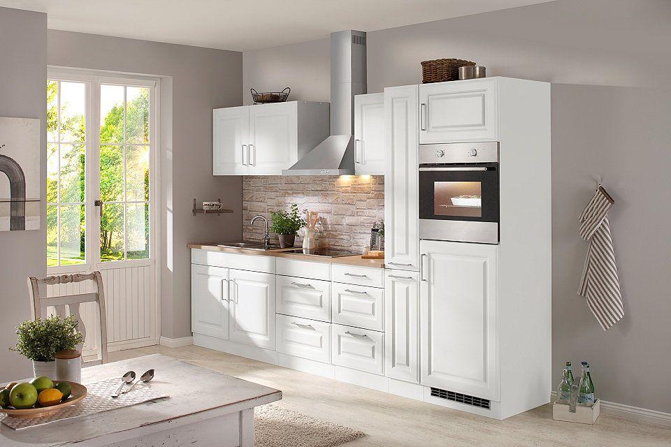 HELD MÖBEL Küchenzeile mit E-Geräten »Stockholm 300 cm« Jetzt - küchenblock 270 cm
