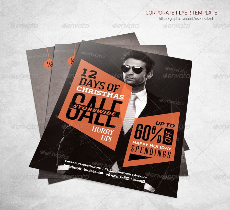 4 Up Flyer Template Leoncapers