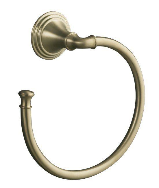 Kohler 10557-BX Devonshire Towel Ring Brazen Bronze Color
