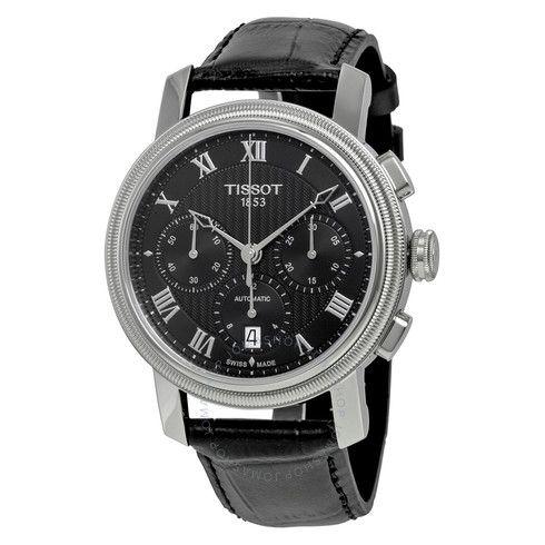 Tissot Bridgeport Automatic Chronograph Black Dial Men's Watch T097.427.16.053.00 - Bridgeport - T-Classic - Tissot - Watches - Jomashop