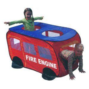 Kids Fire Engine Truck Play Tent  sc 1 st  Pinterest & Kids Fire Engine Truck Play Tent | Fireman/Firetruck | Pinterest ...
