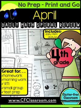 Free Printable Math Worksheets for Grade 4