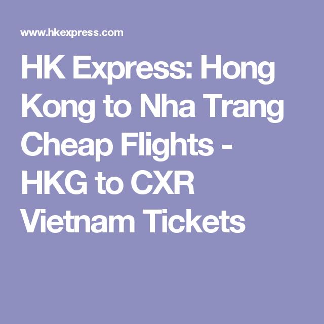 HK Express: Hong Kong to Nha Trang Cheap Flights - HKG to CXR Vietnam Tickets (avec images)