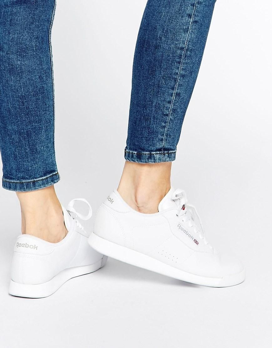 2019 professionell perfekte Qualität klar in Sicht Reebok | Reebok Princess Spirit White Sneakers at ASOS ...