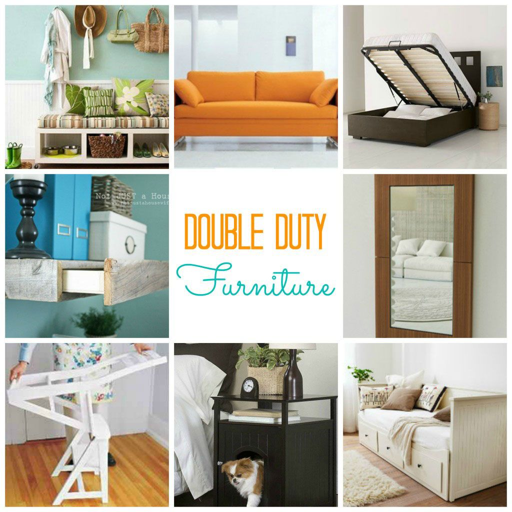 Furniture That Does Double Duty | Furniture ideas, Storage room and ...