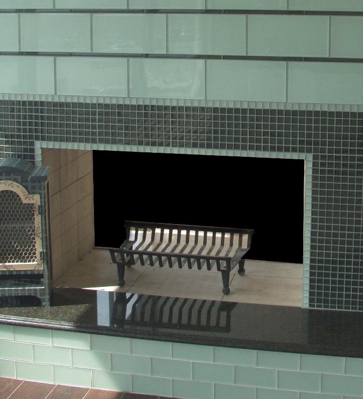 Best 25 Subway Tile Fireplace Ideas On Pinterest