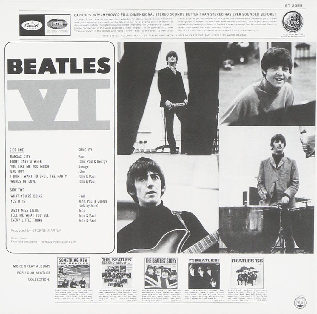 Beatles Vi by The Beatles Amazon.co.uk Music The