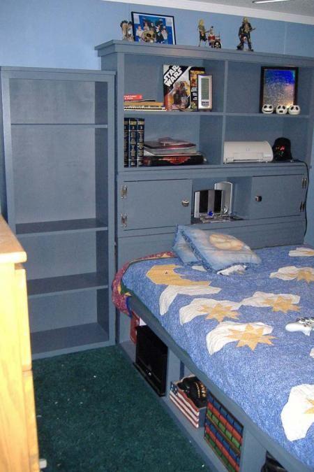 Best Ana White Free Wood Plans Full Size Storage Bed Stuff 400 x 300