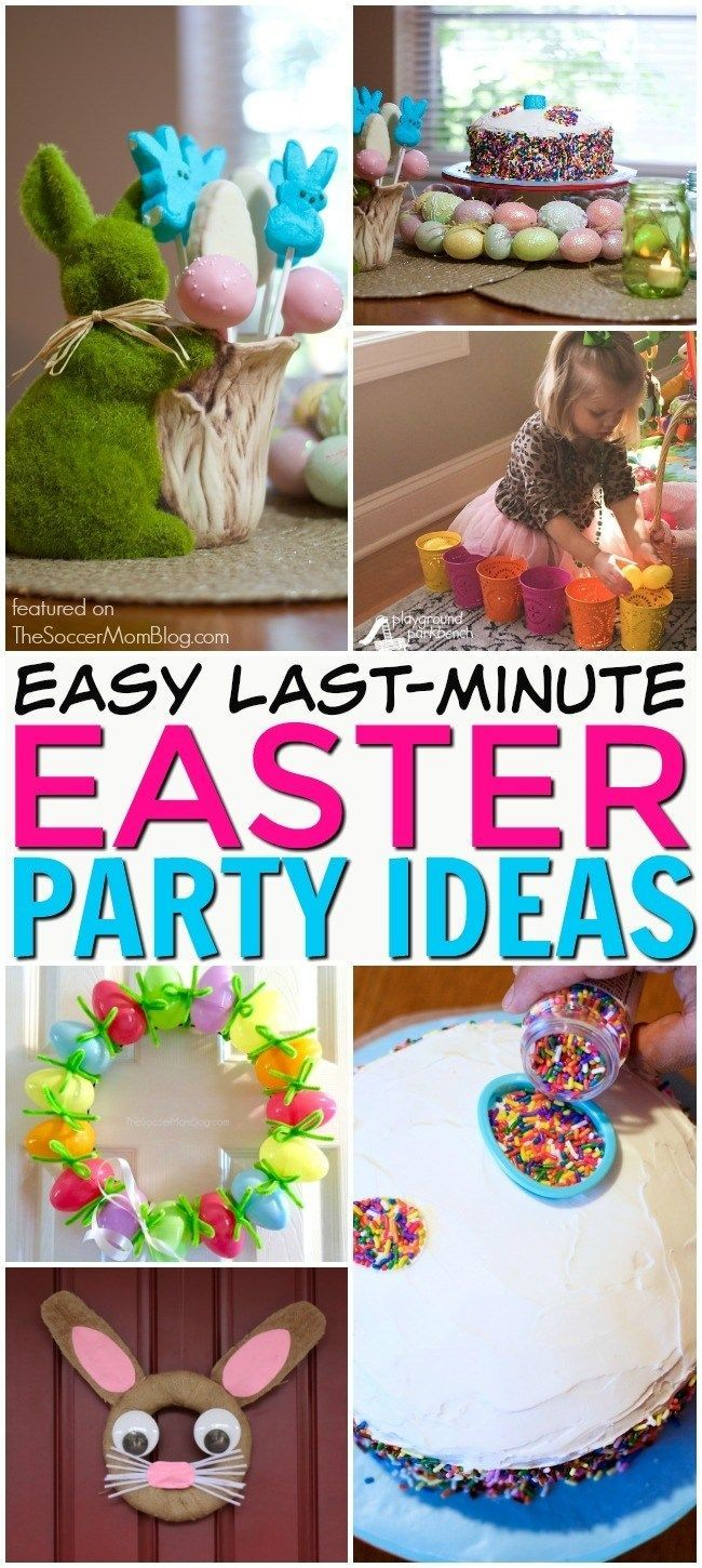 Easy Last Minute Easter Party Ideas Easter Activities For Kids Easter Party Easter Activities