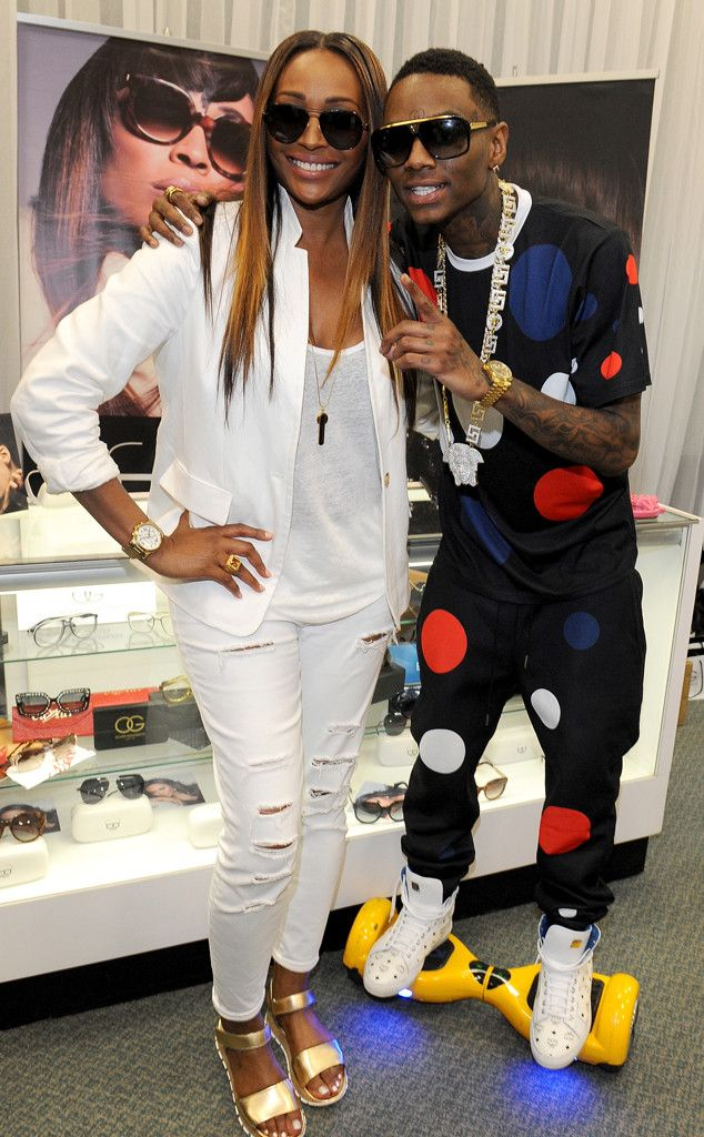 88d897ef3fb Cynthia Bailey   Soulja Boy from The Big Picture  Today s Hot Pics The Real  Housewives of Atlanta star and famous rapper each sport Cynthia Bailey  Eyewear ...