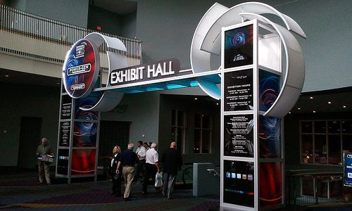 Image result for octanorm entrance exhibition stand for International decor gates
