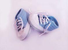 Kostenlose Häkelanleitung Babyschuhe für Neugeborene! #tejidos