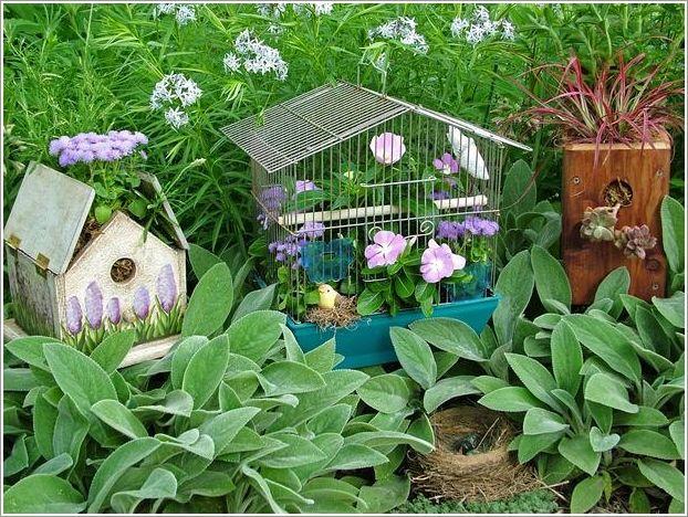 Resultado de imagem para Jardins com belos pássaros