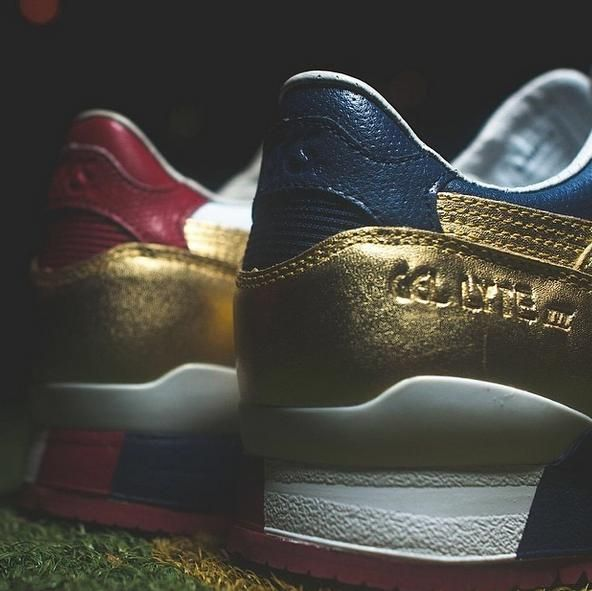 Ronnie Fieg x KITH x ASICS Gel Lyte III Team USA