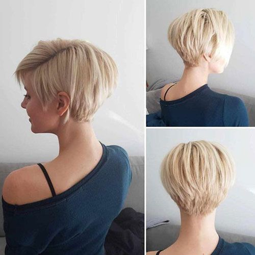 20 Perfect Short Hairstyles For Straight Hair Thick Hair Styles Short Hair Styles Hair Styles