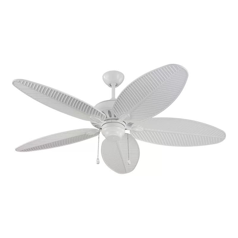 52 Kateri 5 Blade Outdoor Ceiling Fan Reviews Allmodern Outdoor Ceiling Fans White Ceiling Fan Ceiling Fans Without Lights