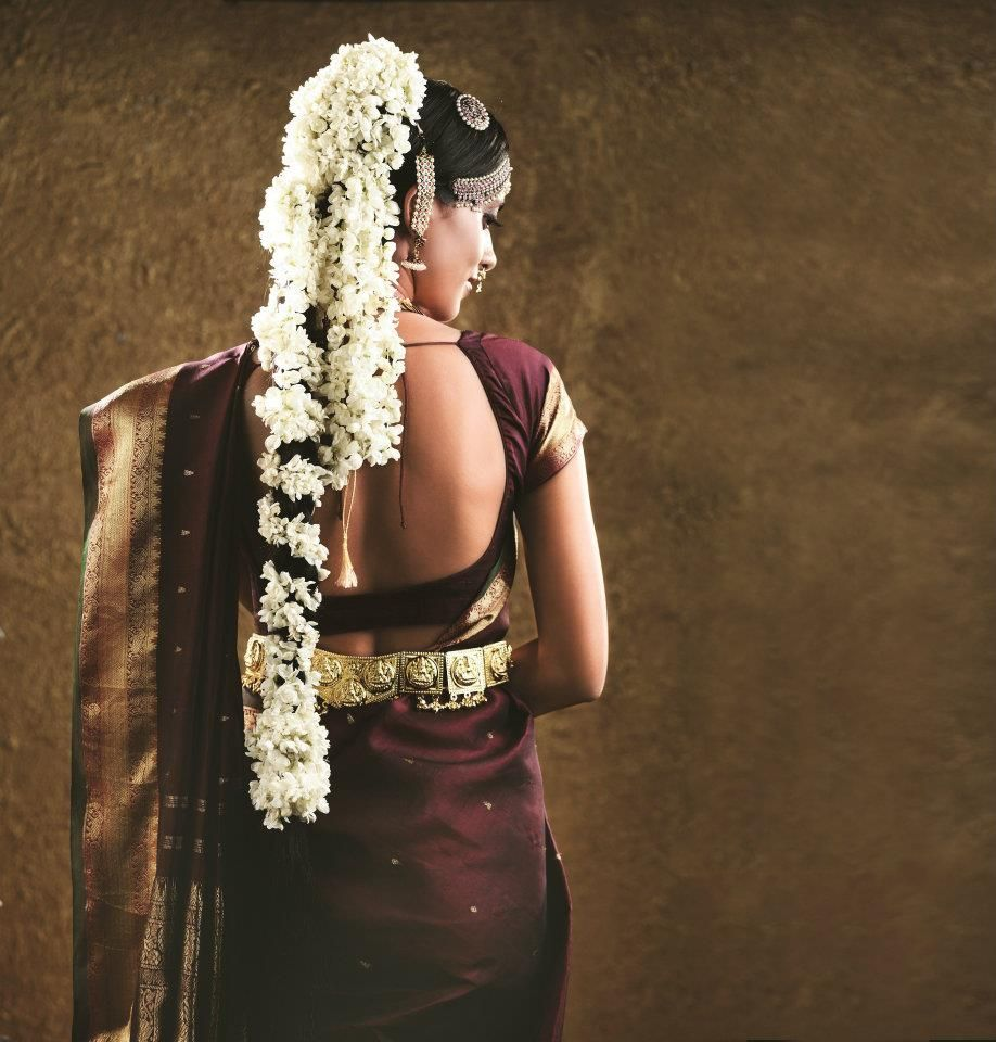 Tamil Bride Hairstyle: The Classic Tamil Bride #BeautifulBrides