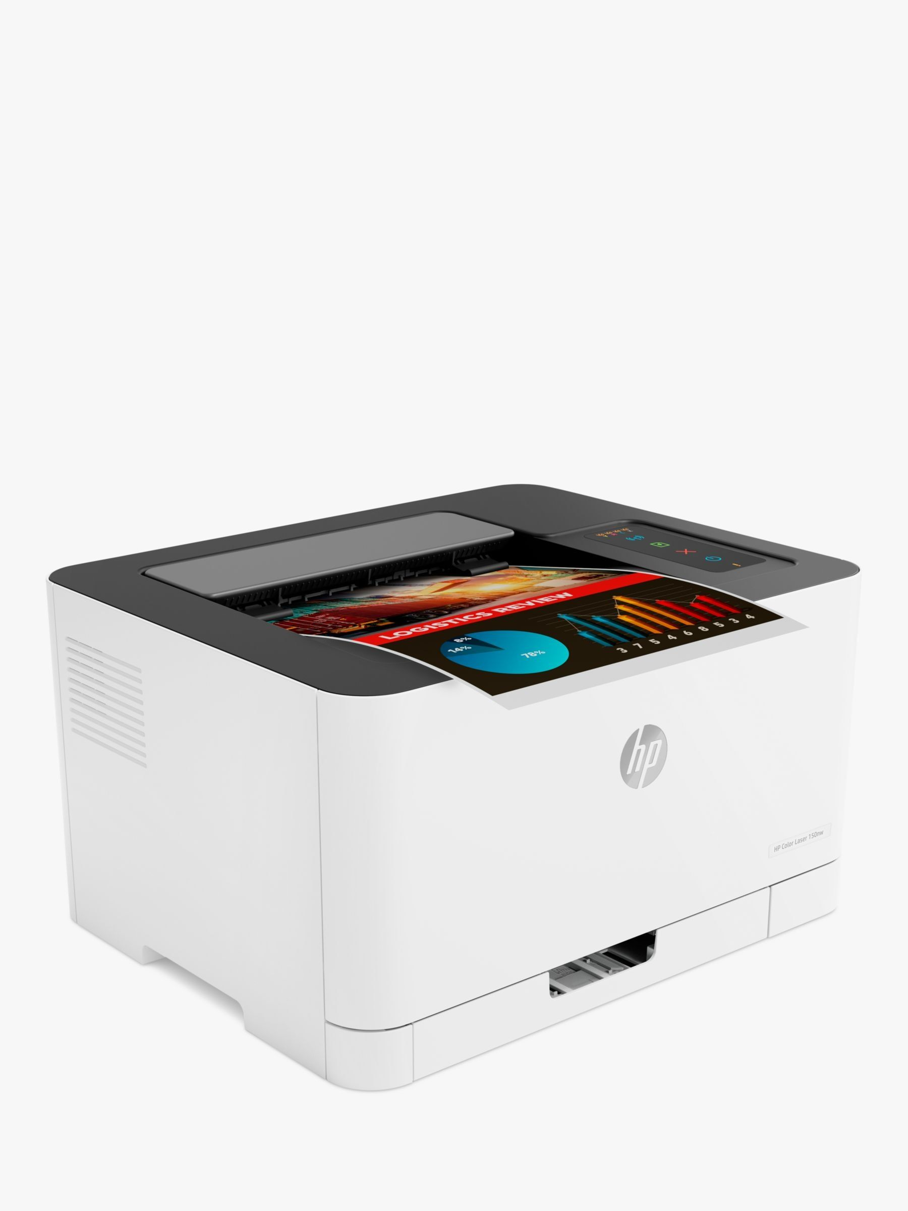 Hp Laserjet 150nw Wireless Colour Printer With Wi Fi White Wireless Printer Printer Wifi