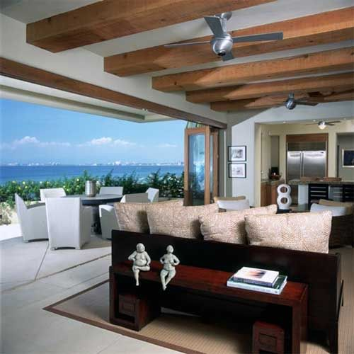 Tropical Beach House Interior: Chic Home, Beautiful Beach House In Guadalajara, Mexico