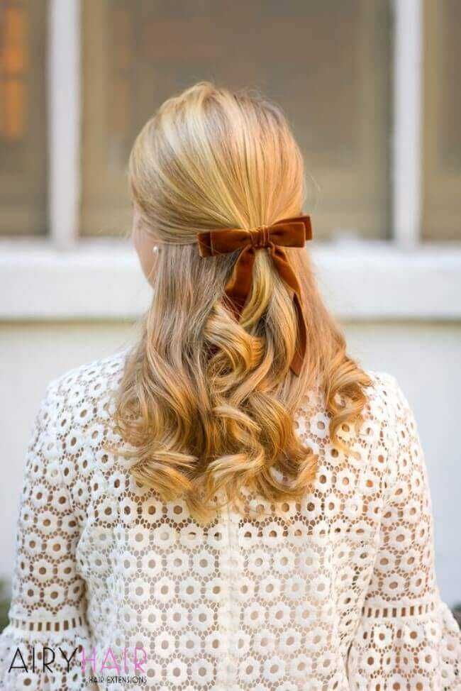 Top 30 Stunning 2021 New Year S Eve And 2020 Christmas Hairstyles Preppy Hairstyles Hair Styles Classy Hairstyles