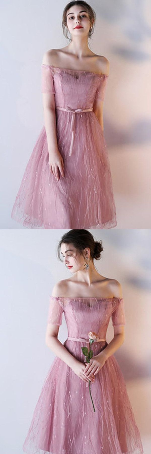 Custom made soft prom dresses lace aline prom dresses short prom
