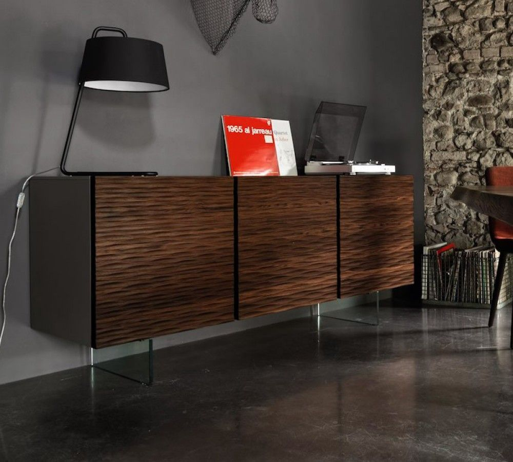 Deluxe Tamboured Buffet At Home Furniture Store Clearance