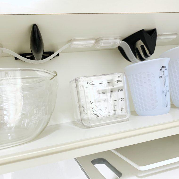 キッチンツールの引き出し収納 お玉やフライ返し トングもこれで整理