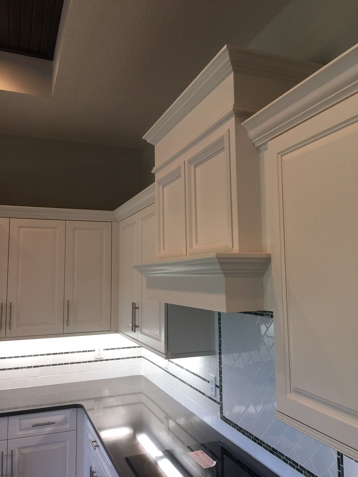 Painted White Kitchen Cabinetry Learn More Builder Preferred Cabinetry Serving Wichita Metro Ks Kitchen Bathroom Remodel White Kitchen Hood Kitchen
