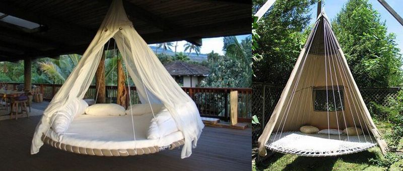 This Is Awesome Diy Suspended Trampoline Tent Bed Have A Broken