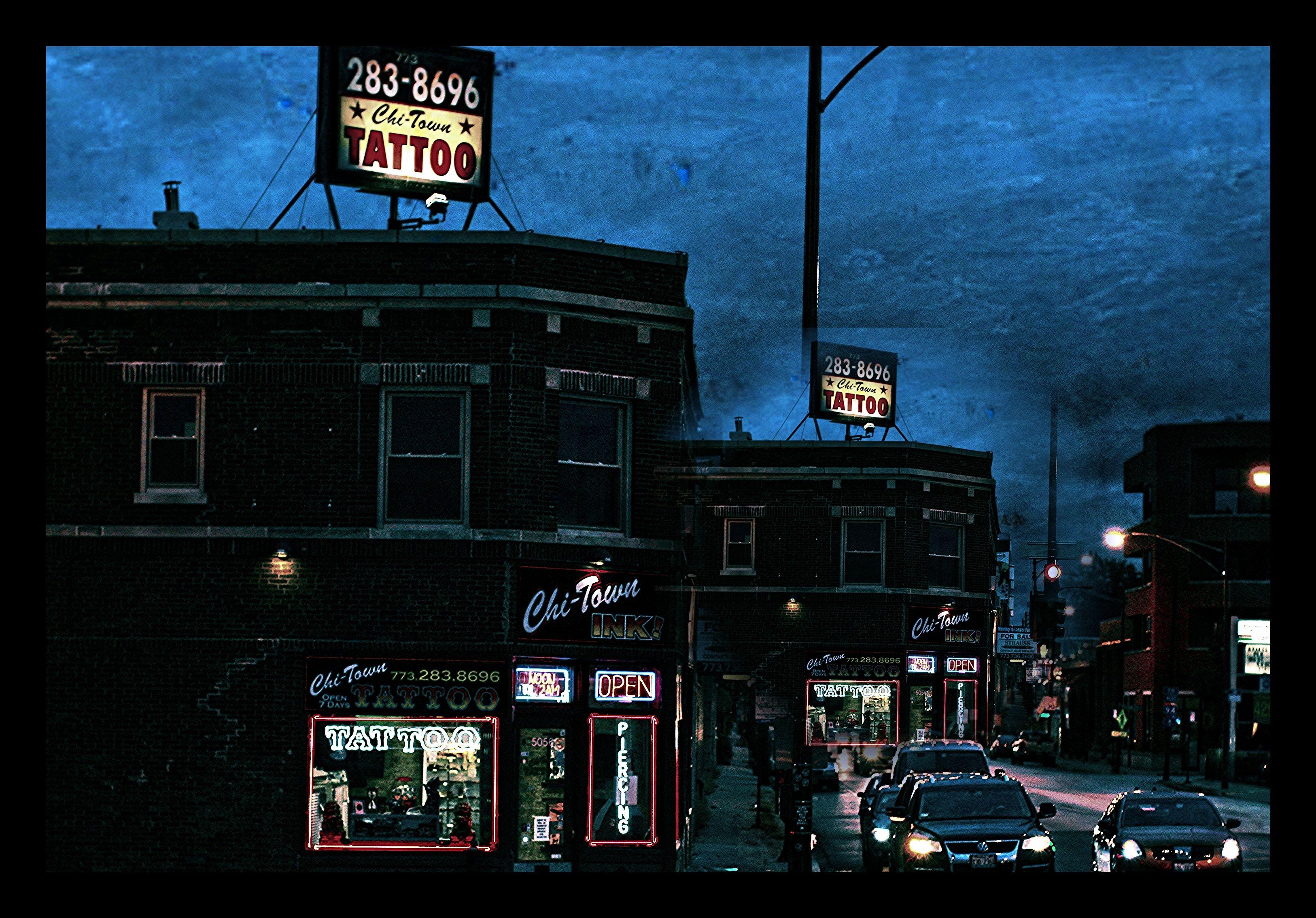 Chicago tattoo body piercing shop chitown custom