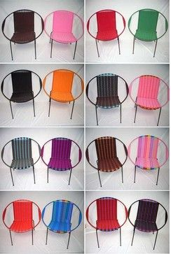 African Chairs- Plastica