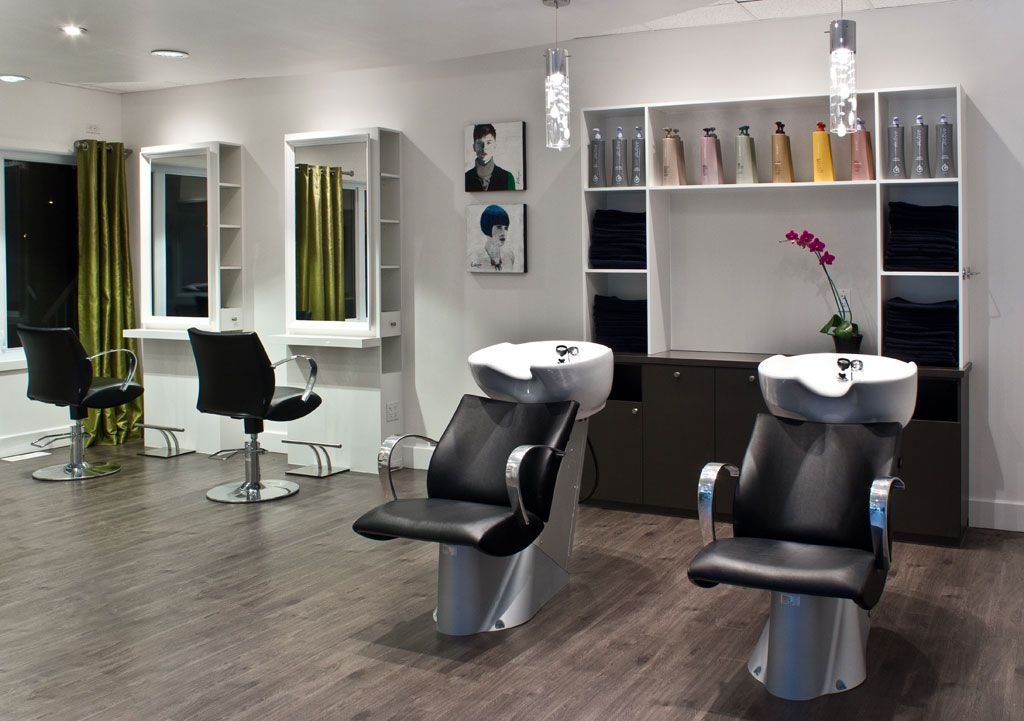 Beautiful Mobilier Salon De Coiffure Moderne Pictures