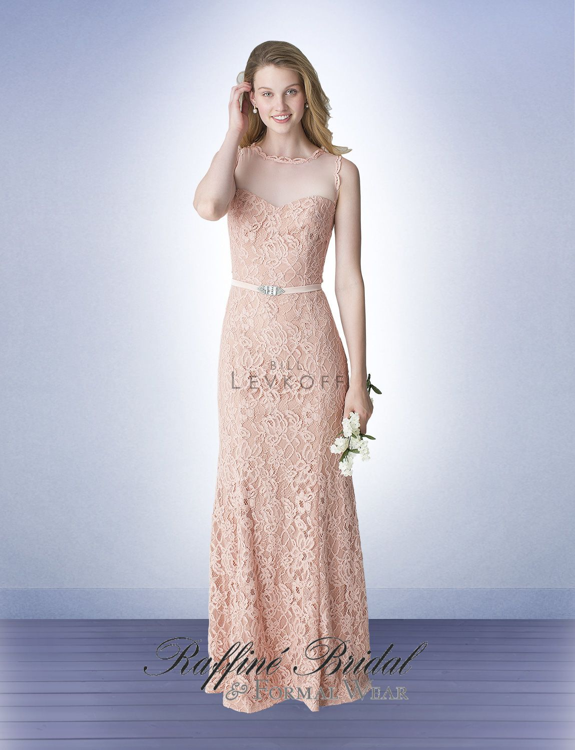 Bill levkoff 1253 antique lace sweetheart gown with an illusion free extra length free us shipping bill levkoff bridesmaid dress style 1253 antique lace sweetheart gown with an illusion top trimed in lace ombrellifo Images