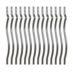 Best Deckorail 3 4 In X 32 In Black Aluminum Round Baluster 400 x 300
