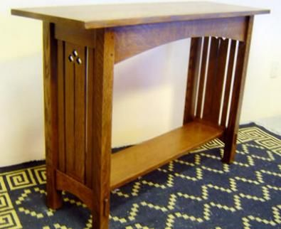 Arts And Crafts Sofa Table Hall