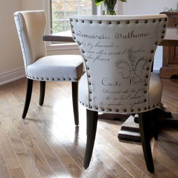 bicci french script chair 2 pack