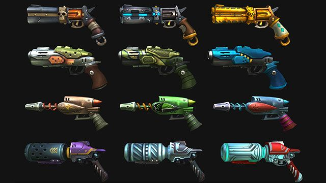 Space Guns, Come Get Your Space Guns