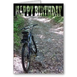 happy birthday card boys mountain bike happy birthday card boys