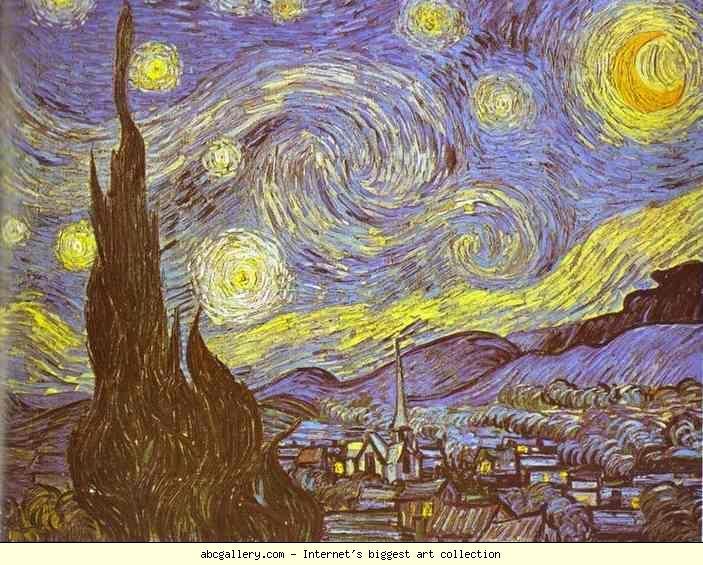 Vincent Van Gogh The Starry Night Saint Remy Olga S Gallery