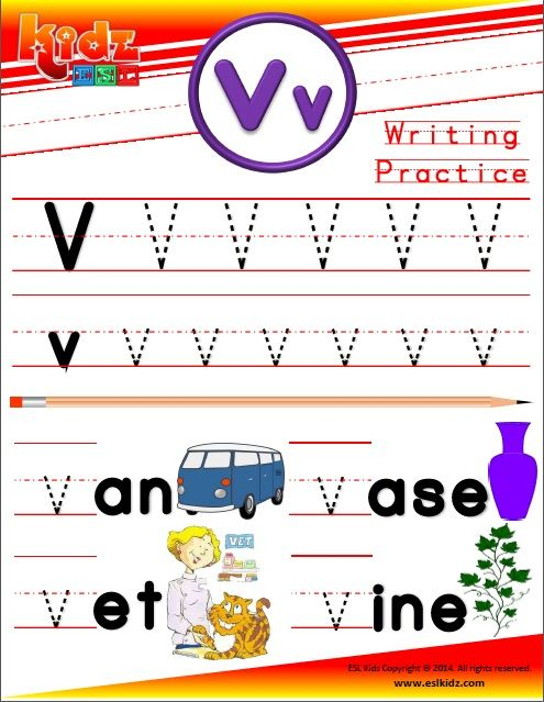 Page Alphabet Writing And Reading Book  Phonics Alphabet