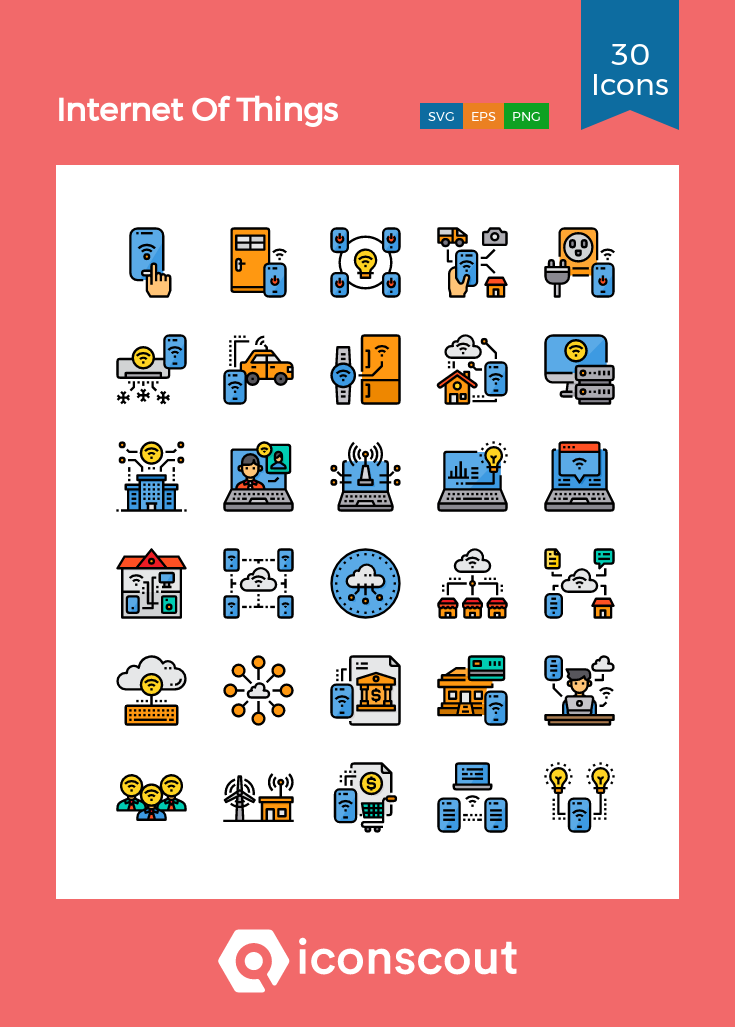Download Of Things Icon pack Available in SVG