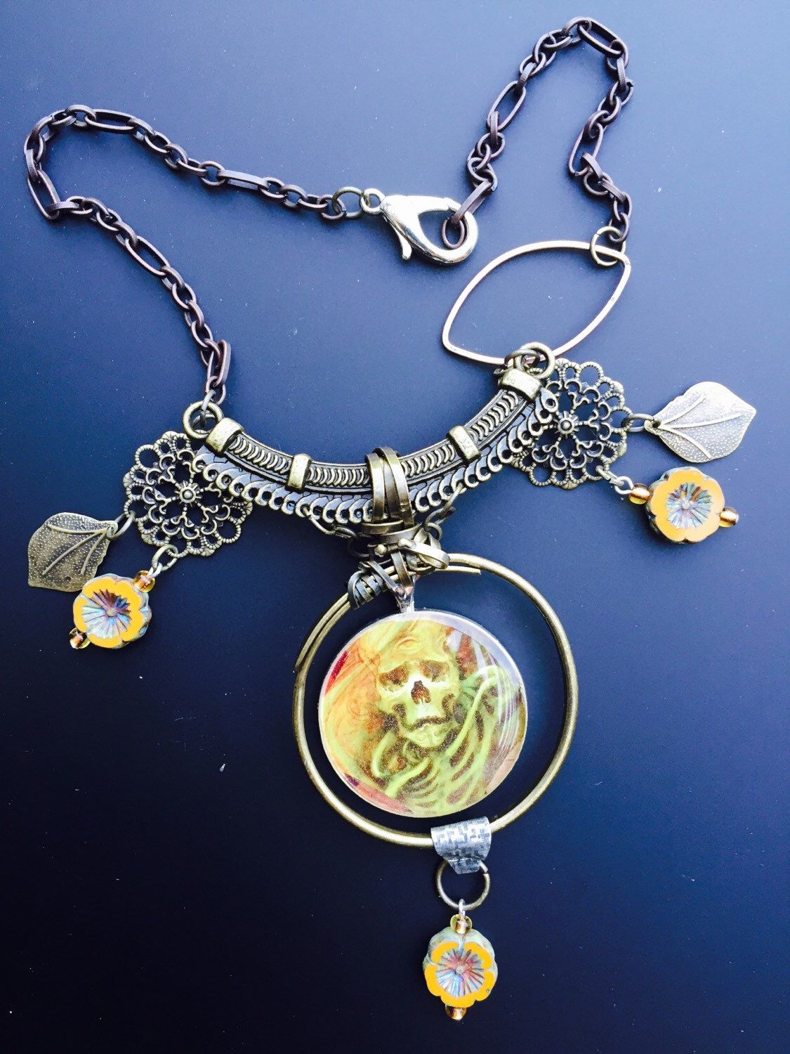 A personal favorite from my Etsy shop https://www.etsy.com/listing/236185903/whispering-dreams-necklace