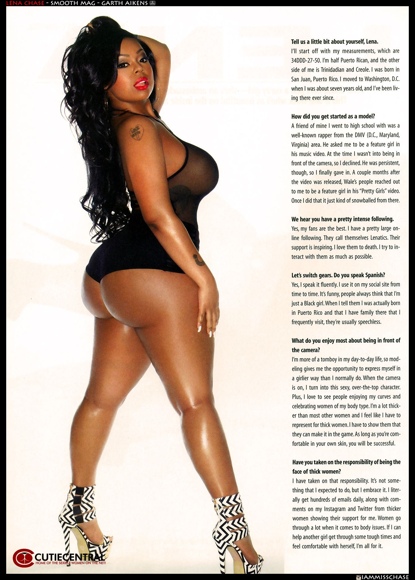 Lena chase smooth magazine spread lena chase smooth and magazines lena chase smooth magazine spread we up on it part 3 thecheapjerseys Images