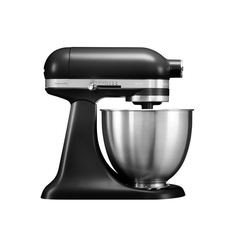 Kitchenaid Black Matte Artisan Mini 3 5 Quart Tilt Head Stand Mixer