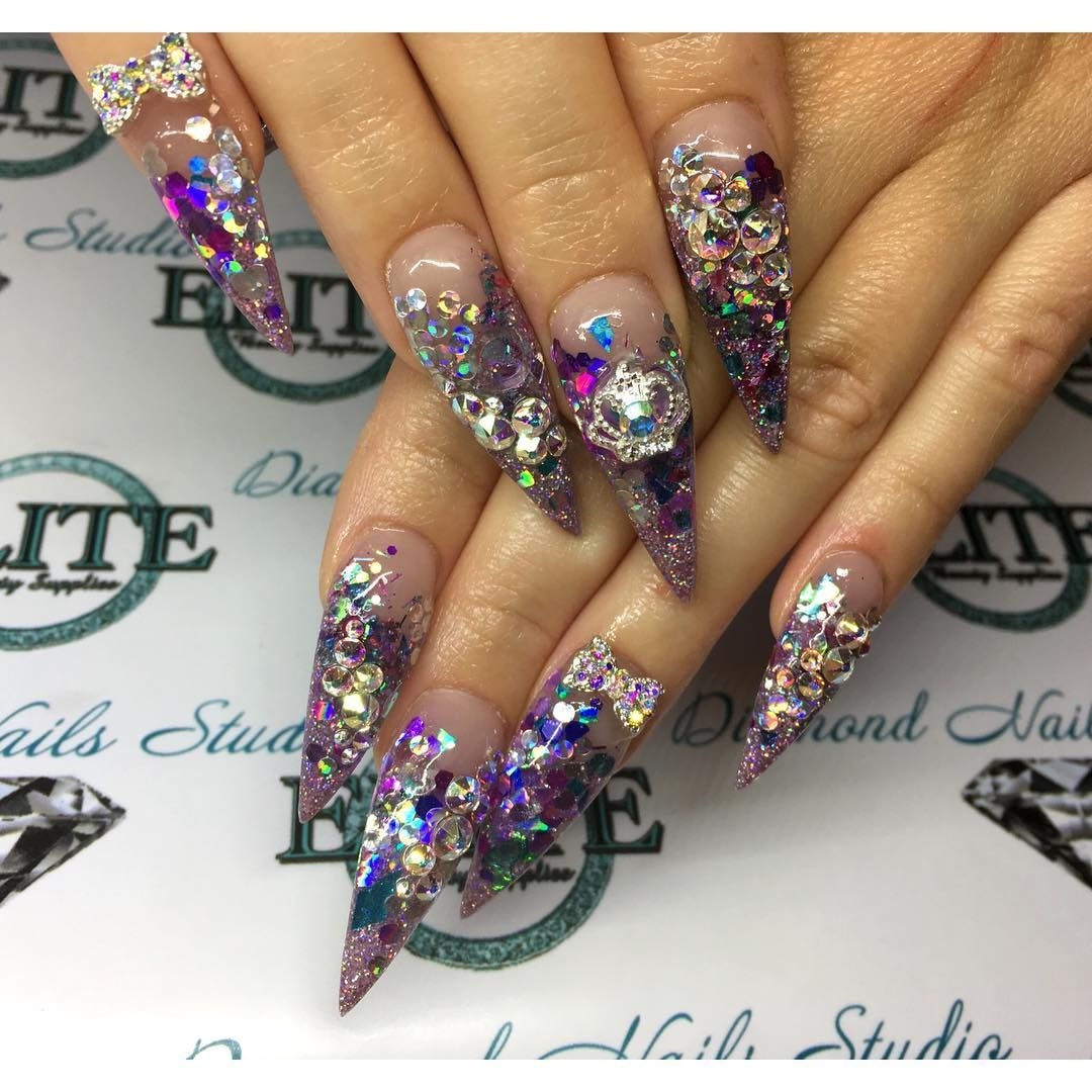 See this Instagram photo by @diamondnailsstudio • 24 likes | Nails ...