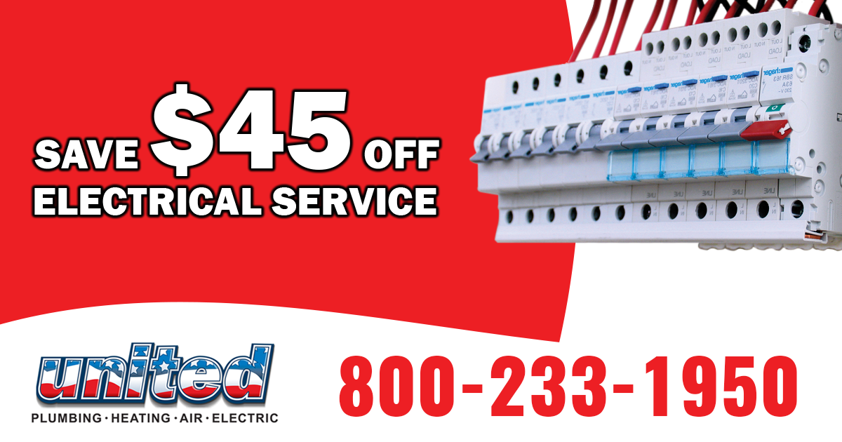 Need electrical service? Call Local United Plumbing
