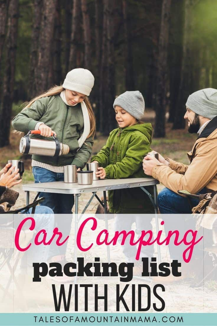 Photo of Definitive Packing List For Car Camping With Kids